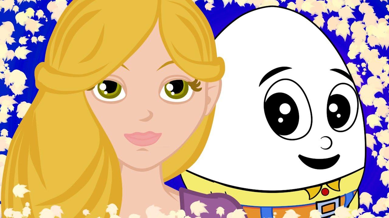 Rapunzel ile Yumurta Kafa | Humpty Dumpty Türkçe | Adisebaba Masal Çocuk Şarkıları