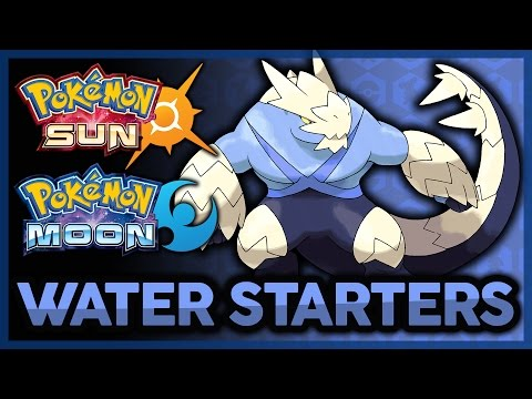 Top 5 Potential Starters for Pokémon Sun and Moon! | Water Type