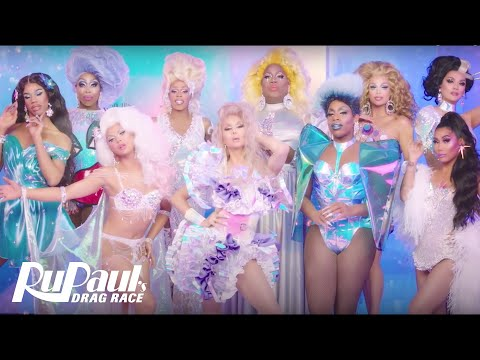'All Hail RuPaul' Music Video 'Carol of the Queens' ❄️ | RuPaul's Drag Race All Stars 4