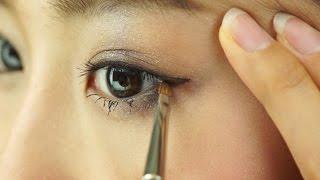 奥二重や一重でも目が大きく見える目尻ラインの描き方【ノーカット版】 thumbnail