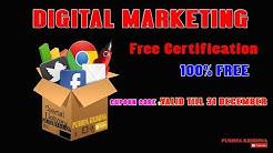 TOP DIGITAL MARKETING FREE CERTIFICATES | $199 COUPON CODE FREE | 100% FREE CERTIFICATION