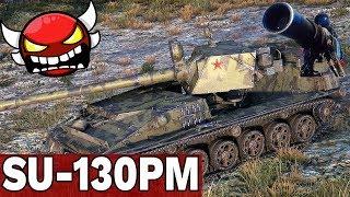 DEMONICZNE DZIAŁO Z ZSRR - SU-130PM - World of Tanks