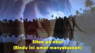 Lagu Bajau - Siksa Pangentoman_Dyana (versi Joelock)
