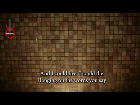 Dive (acoustic karaoke) Ed Sheeran - Female Key