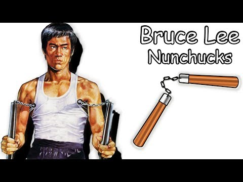 Bruce Lee Nunchucks made out of Paper | Easy Paper Nunchucks | Tutorial