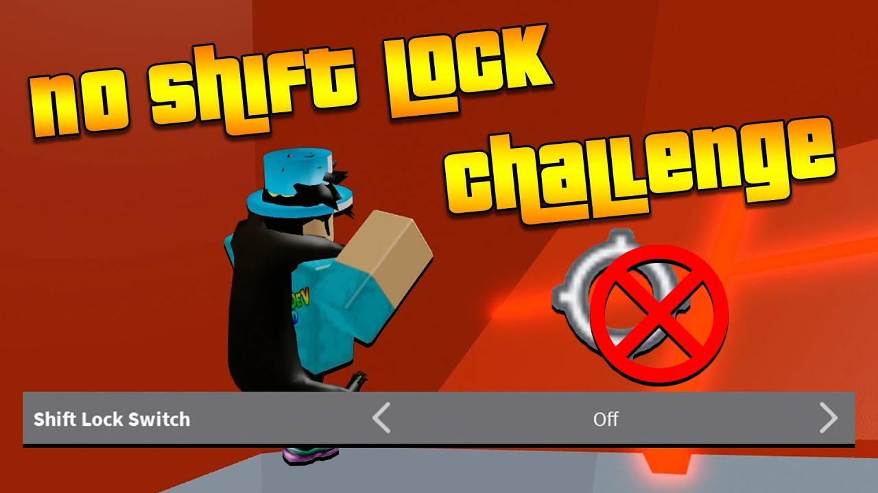 No Shift Lock Challenge In Tower Of Hell Roblox Youtube