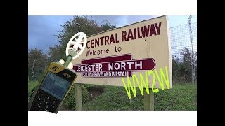 Great Central Railway metal detecting