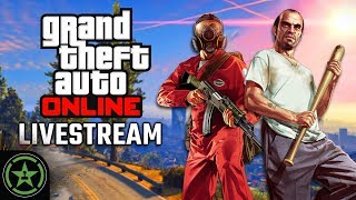 Achievement Hunter Live Stream - GTA V: Online - Community Games