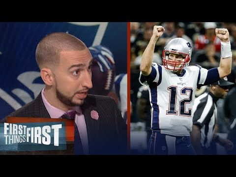 Patriots def Saints 36-20 in Week 2 of 2017-18 NFL season - Nick and Cris react | FIRST THINGS FIRST