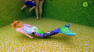 A Mermaid at Spa Castle