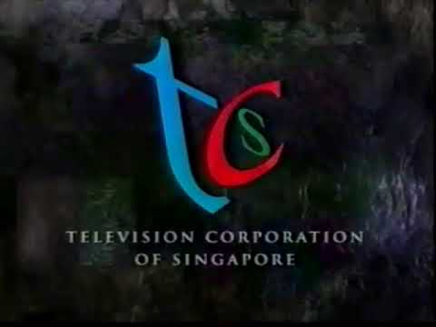 Television Corporation of Singapore - Steel ident 1997 incomplete