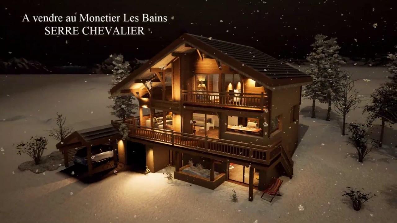 Chalet Lombard Vasina A Vendre Au Monetier Les Bains Serre