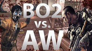 "Treyarch Black Ops 2 Zombies VS. Sledgehammer Advanced Warfare Exo Zombies""\ (Call of Duty Zombies)"
