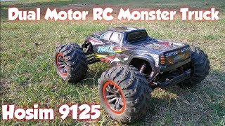 Hosim 9125 Dual Motor RC Monster Truck 1st Run