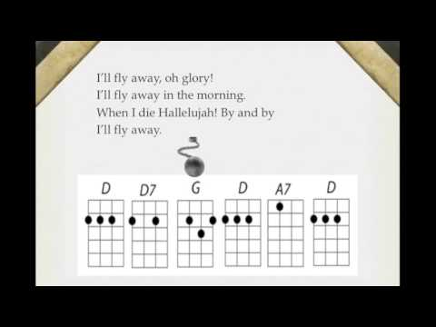 Banjo banjo tablature for ill fly away : I'll Fly Away with Chord Charts - YouTube