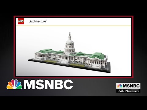 FBI Finds Lego Model Of U.S. Capitol In Home Of Riot Suspect