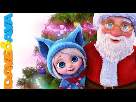 馃巹 Christmas Songs for Kids   Nursery Rhymes for Babies   Christmas Time with Dave and Ava 鈽冿笍