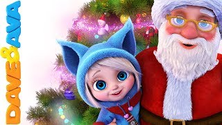 🎄 Christmas Songs for Kids | Nursery Rhymes for Babies | Christmas Time with Dave and Ava ☃️