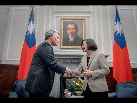 20180526 總統接見「美國聯邦參議院外交委員會亞太小組主席賈德納訪問團」
