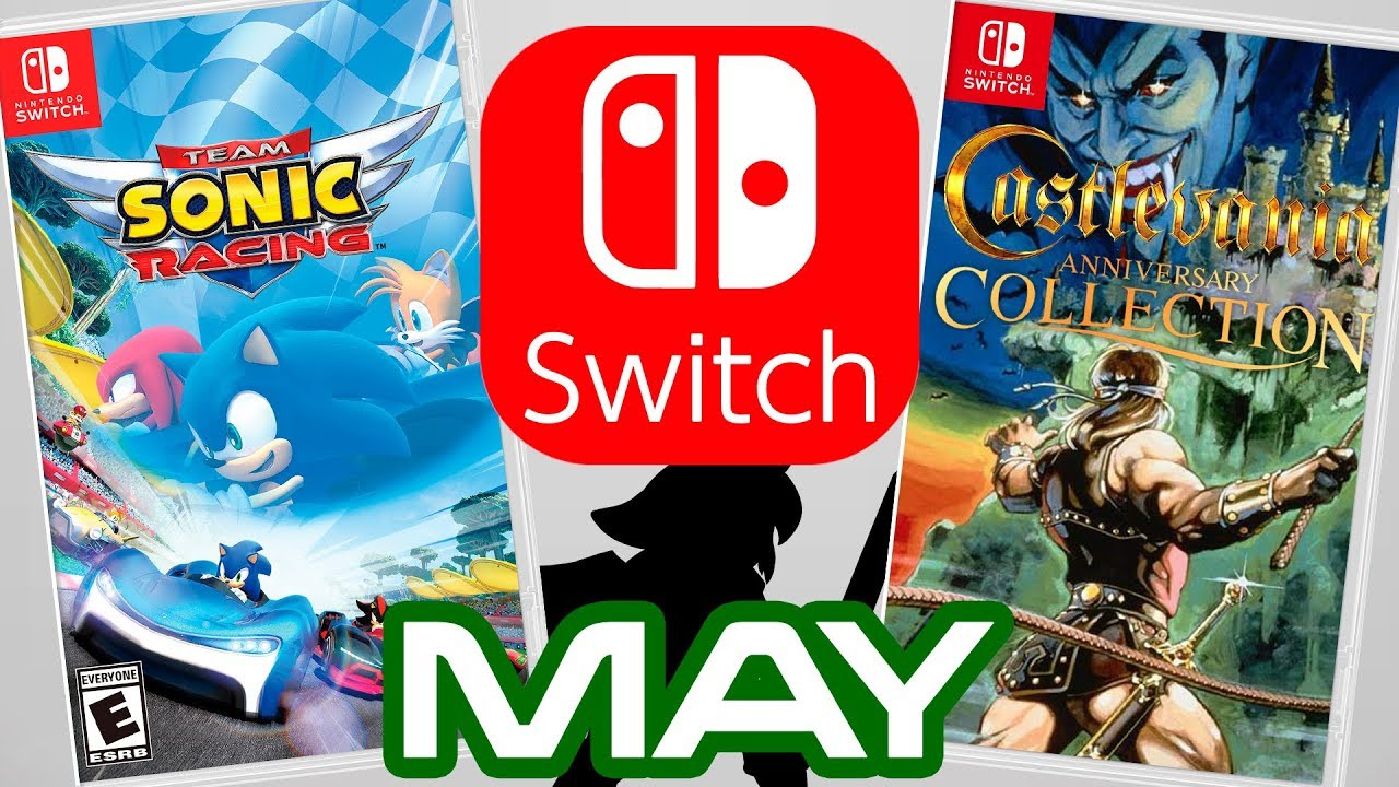 Top 10 Nintendo Switch Games Coming May 2019 Youtube