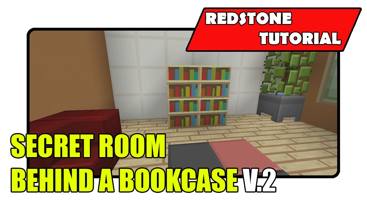 Secret Room Behind A Bookcase V.2 (Minecraft Xbox TU20/PlayStation CU8) - Secret Room Behind A Bookcase V.2 (Minecraft Xbox TU20/PlayStation