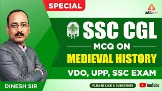 Miscellaneous Question on Medieval History | VDO, UPP , SSC ETC...