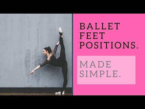 Basic Ballet Feet Positions For Beginners.