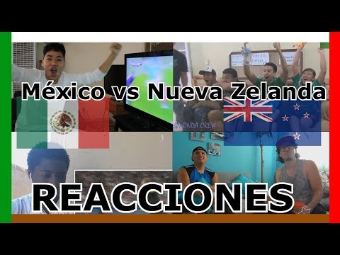 Reactions: Mexico vs New Zealand 2 - 1 | Confederations cup 2017 | Compilation