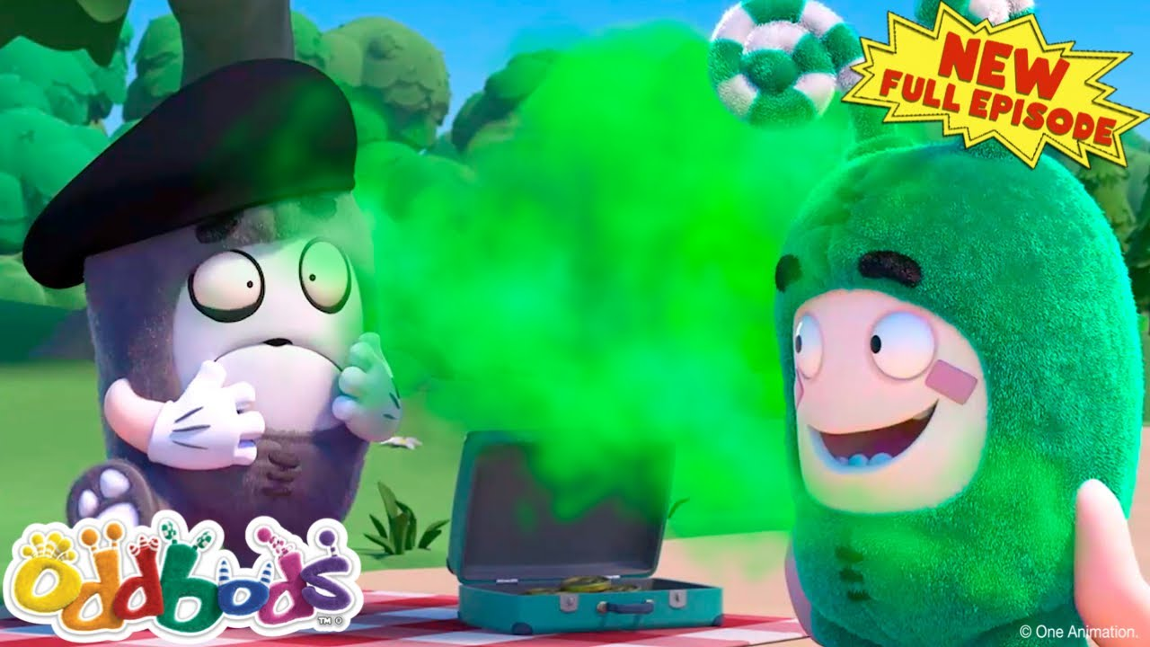 Oddbods   The Mysterious Stinky Mist   New FULL EPISODE   Funny Cartoon