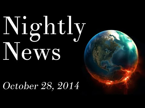 World News - October 28, 2014 - New Jersey & Australia Ebola