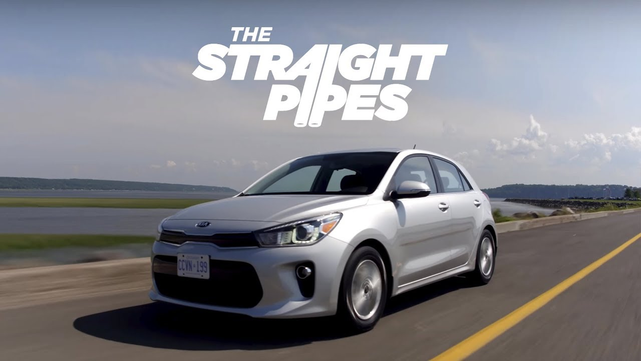 2018 Kia Rio Review with UVO Telematics Test - Yuri and Jakub Go for a Drive