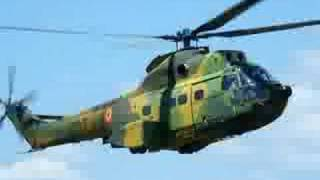 Romanian Air Force IAR-330 Puma NATO display