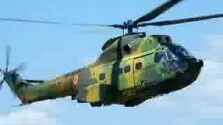 Romanian Air Force IAR-330 Puma NATO display