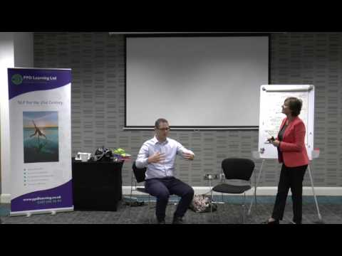 Judith Lowe takes a client through the Neurological Levels