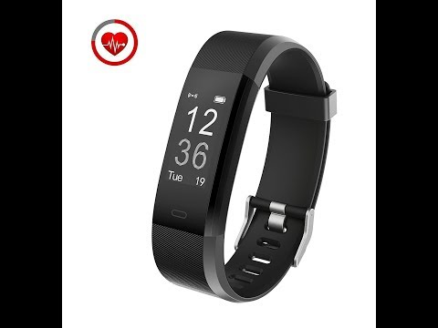 Vigorun YG3 Fitness Tracker with Heart Rate Monitoring