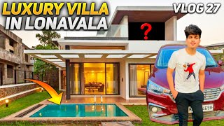 A Day In $200 Luxury Villa in Lonavala - Vlog 27 || TWOSIDEGAMERS
