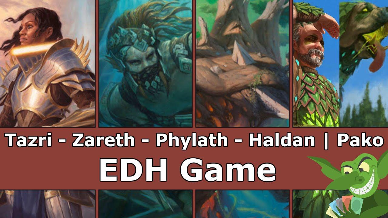 Download Tazri vs Zareth vs Phylath vs Haldan | Pako EDH / CMDR game play for Magic: The Gathering