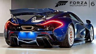 forza motorsport 6 l mclaren p1- RIO DE JANEIRO !! GAMEPLAY