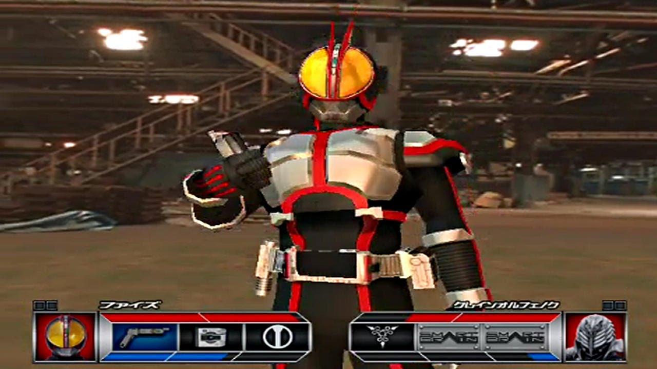 Kamen Rider 555 Ps2 Kamen Rider Faiz Challenge Mode Part1 Youtube