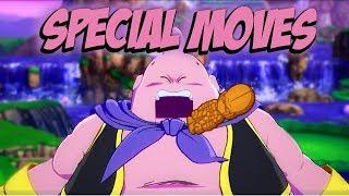 DRAGON BALL FighterZ special moves DBFZ movimientos especiales