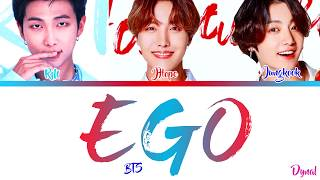 Gambar cover BTS (방탄소년단) - EGO (Jhope, Jungkook ft. RM)[Color Coded Lyrics/Han/Rom/Eng/가사]