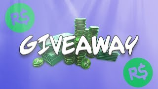 ROBLOX ROBUX GIVE AWAY JOIN NOW FOR A CHANCE TO WIN