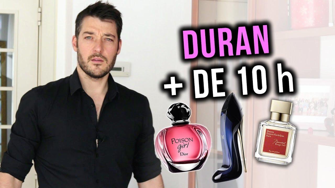 perfumes para mujer mas duraderos