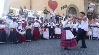 MATRU' Gruppo folk AMATRICE'' Saltarella'' Nemi sagra fragole 2017.