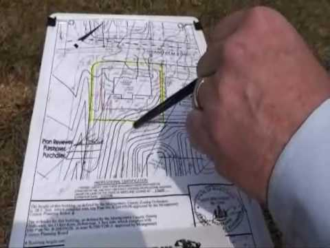 How To Read A Site Plan Youtube