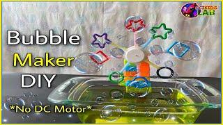 Bubble Maker DIY : H๐w To Make Bubble Machine