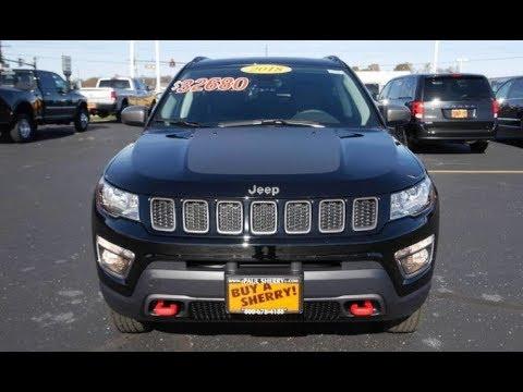 2018 Jeep Compass Trailhawk 4X4 For Sale Dayton Troy Piqua Sidney Ohio | 28122T