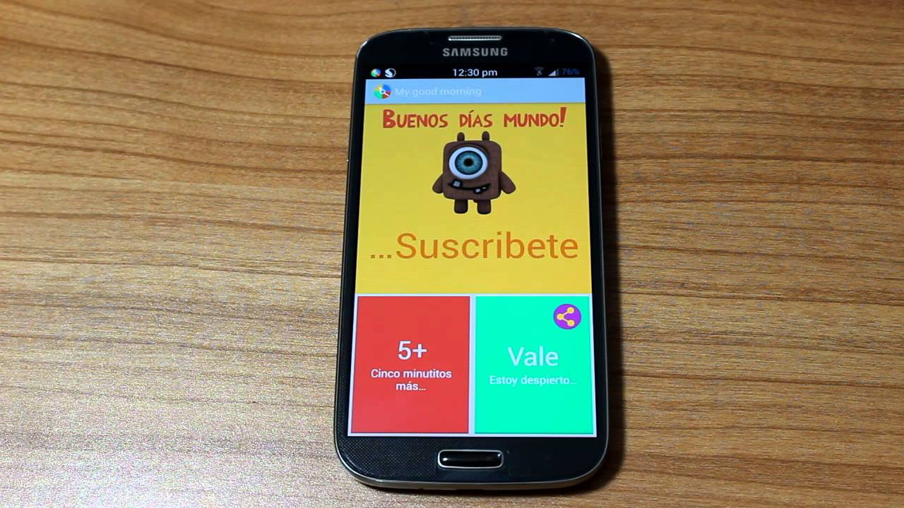 Alarma Calendario Samsung.Despierta Con La Mejor Alarma Te Dice El Clima Notificaciones Y Mas Tu Android Personal