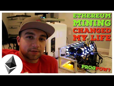 Ethereum GPU Mining CHANGED MY Life | Mining Profitability | ProgPoW