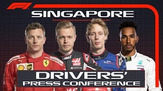 2018 Singapore Grand Prix: Press Conference Highlights